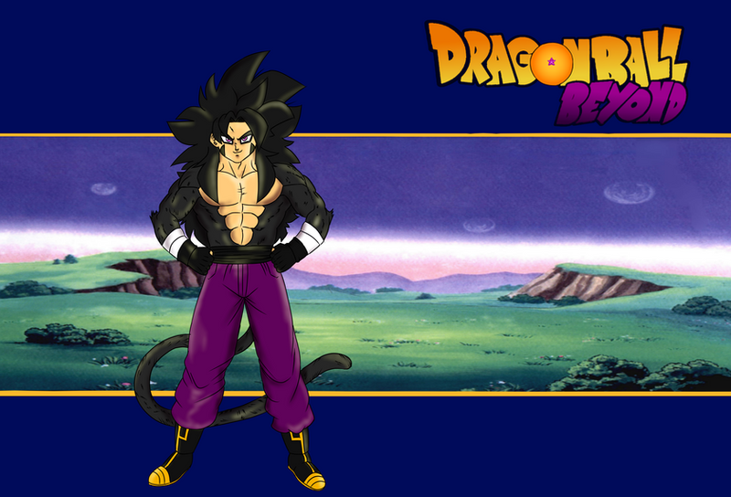 DB Beyond ssj4 poster thingy by chrisolian