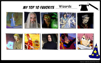 Top 10 Wizards Meme By Sithvampiremaster27
