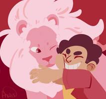 Steven and Lion by frolis-maneuver