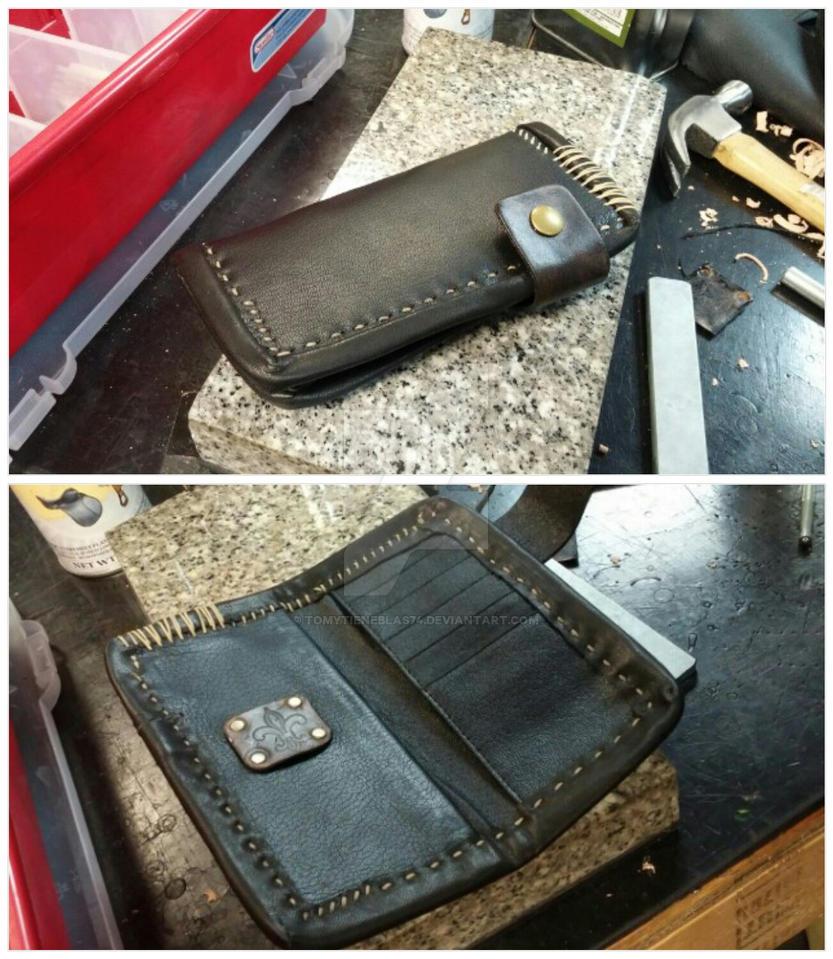 Leather Roper Wallet/Organizer Collag by tomytieneblas74