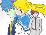SM - Usagi and Ail-Seijuro by Kamara666