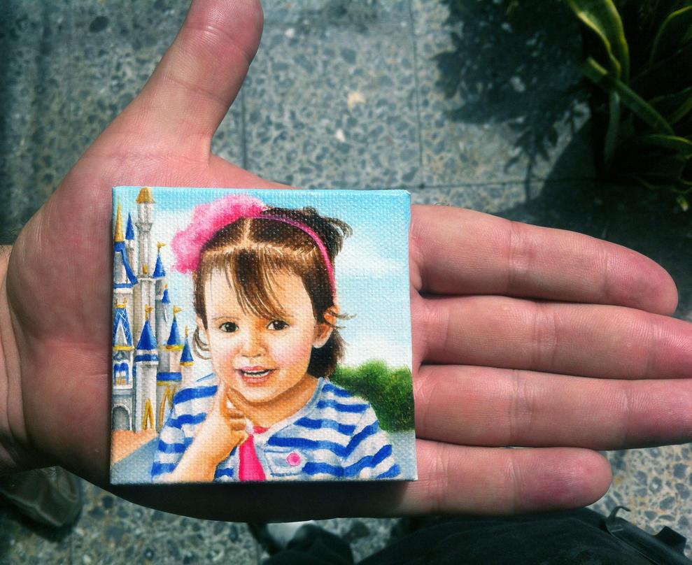 Tiny portrait by DianaCastillA