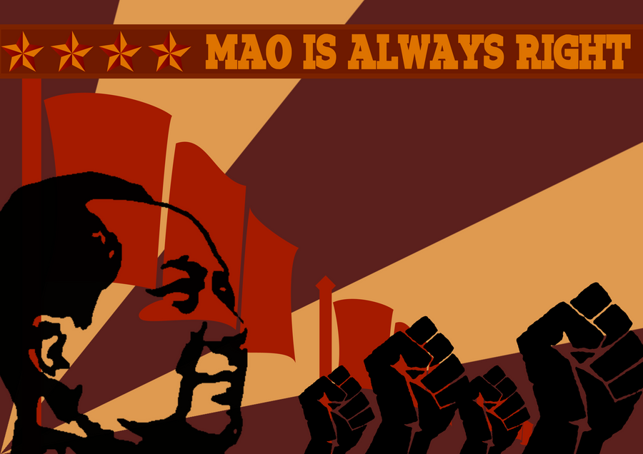 Mao is ALWAYS RIGHT by will-yen