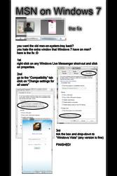 Windows 7 Live Messenger Fix by will-yen