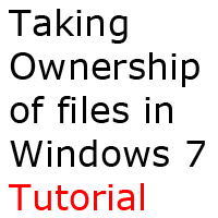 How to take OWNERSHIP of files by will-yen