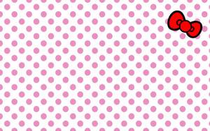 hellokitty bow wallpaper by will-yen
