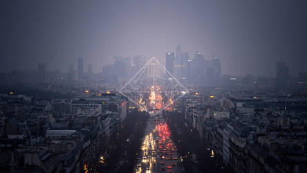 Champs-Elysees Wallpaper by will-yen