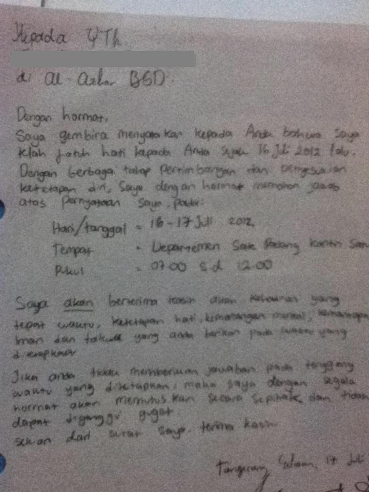 Surat Cinta MOS by RinintaHaha