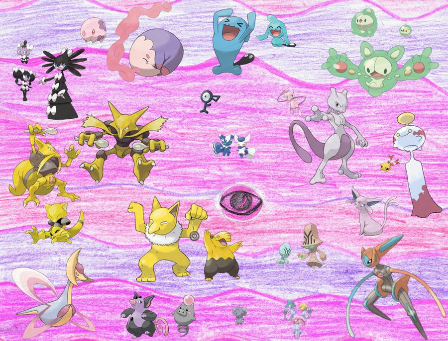 Psychic Pokemon Images | Pokemon Images