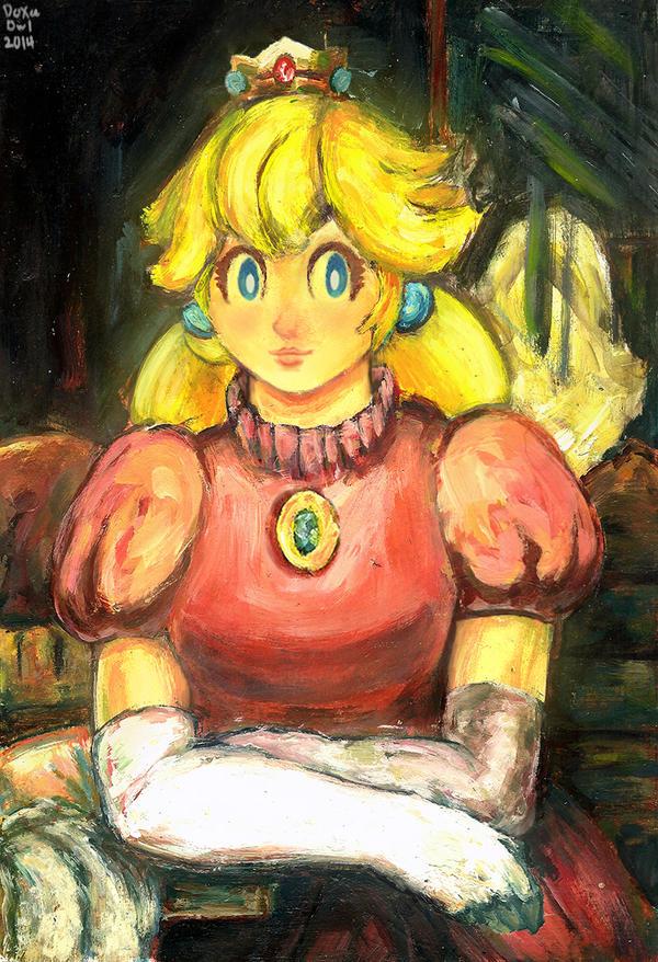 Princess Peach by TheGreekDollmaker