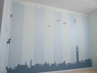 Nursery Wall - Peter Pan by BreakTheDay