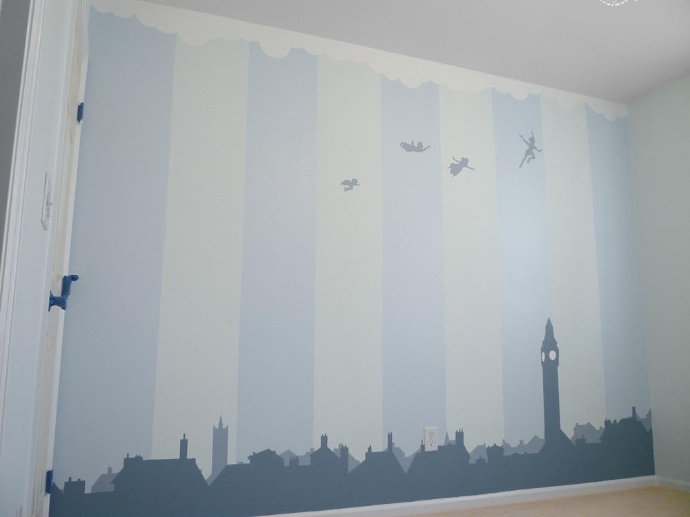 Nursery Wall Peter Pan By Breaktheday On Deviantart