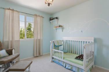 Peter Pan Nursery - Tink Wall