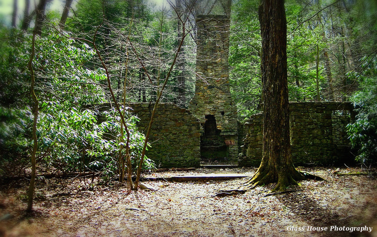 Stone Cottage Ruins At Linn Run State Park By GlassHouse 1