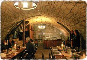 Stohr Haus Bakery Wine Cellar