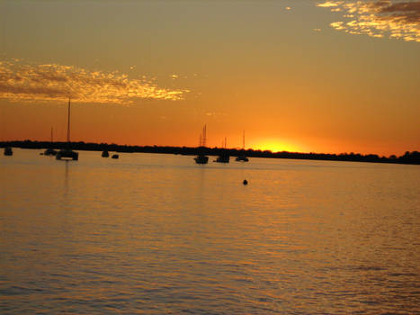 Harboring Sunset