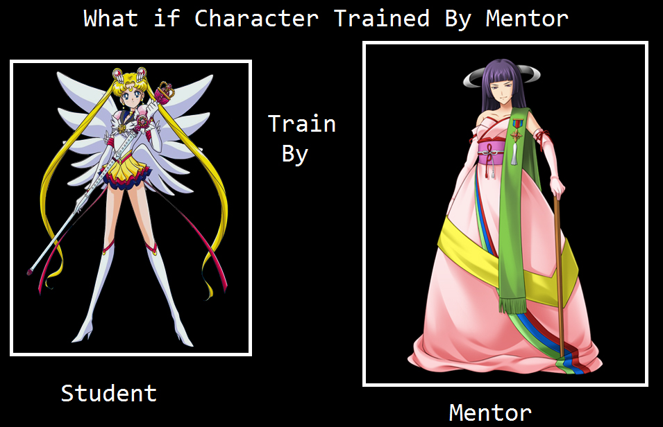 What if Sailor Moon is trained by Featherine? by Kusuri-Shibata