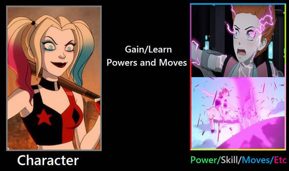 What if Harley Quinn gain Nora's semblance?