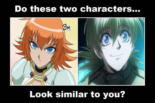 Do Mira and Seras look similar to you?