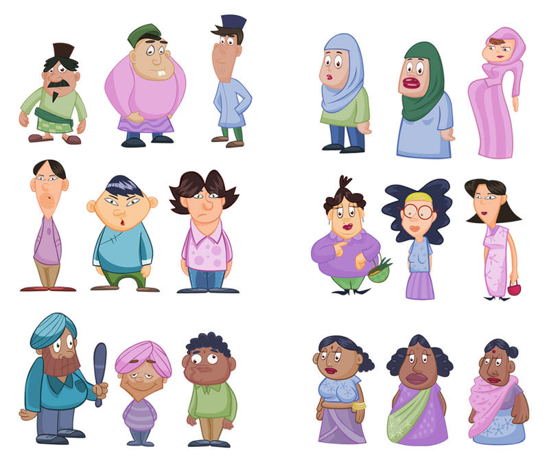 Malaysian People by senimation
