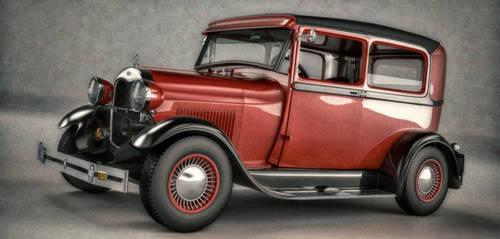 Ford Tudor by TheDigitalBlacksmith