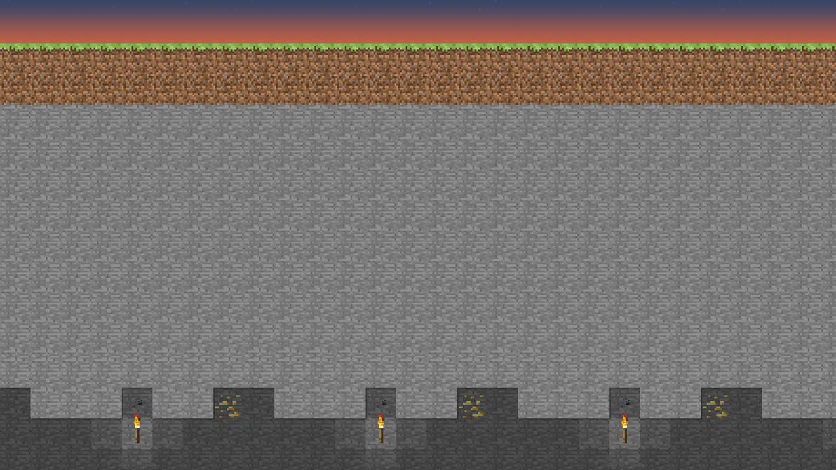 Must see Wallpaper Minecraft Minimalistic - minecraft_sunset_wallpaper_by_moocman-d3fdzax  Gallery_74421.png