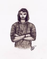 A Guy in Hoodie by mirazrahman