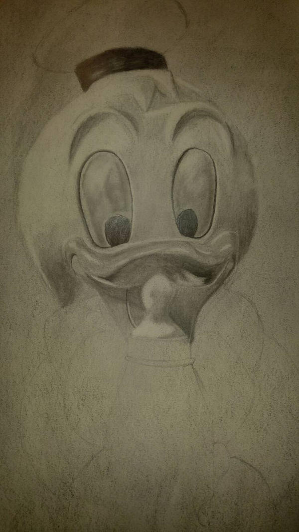 Donald Duck toy by Thaxim