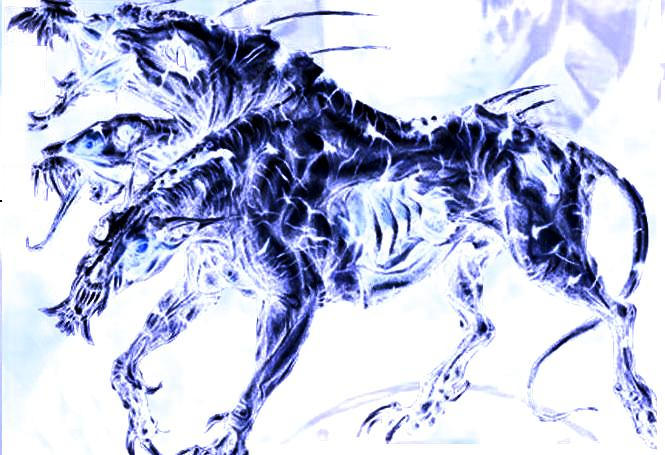 hell beast hound pictures to pin on pinterest tattooskid. Black Bedroom Furniture Sets. Home Design Ideas