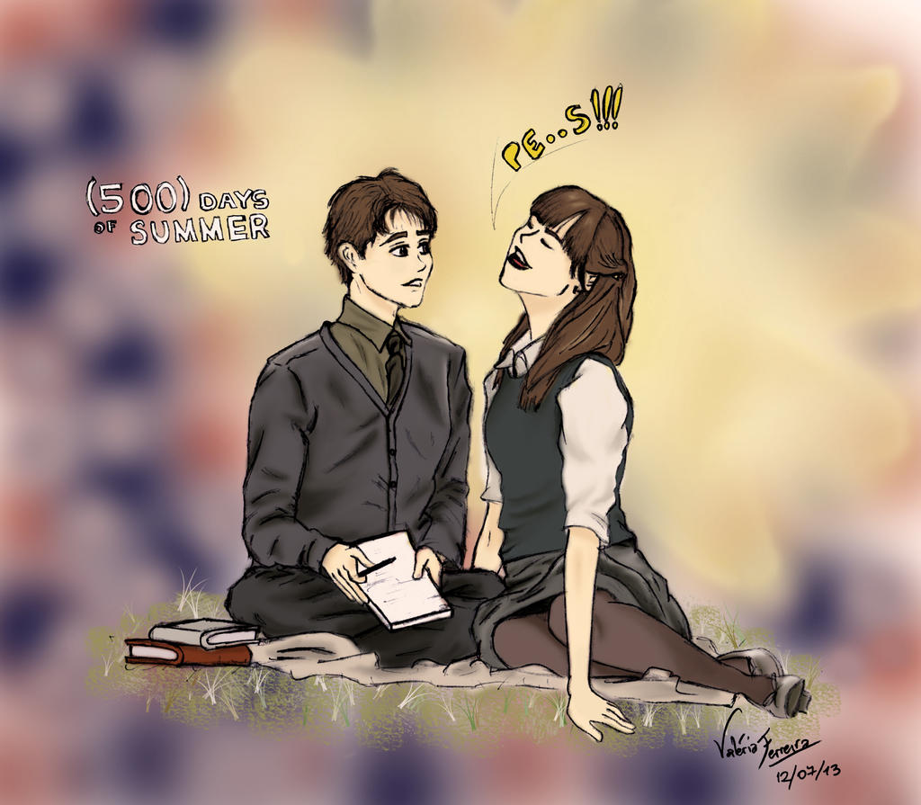 500 days of Summer. by kimkyah on deviantART