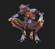 Smug robot by MikeJordana