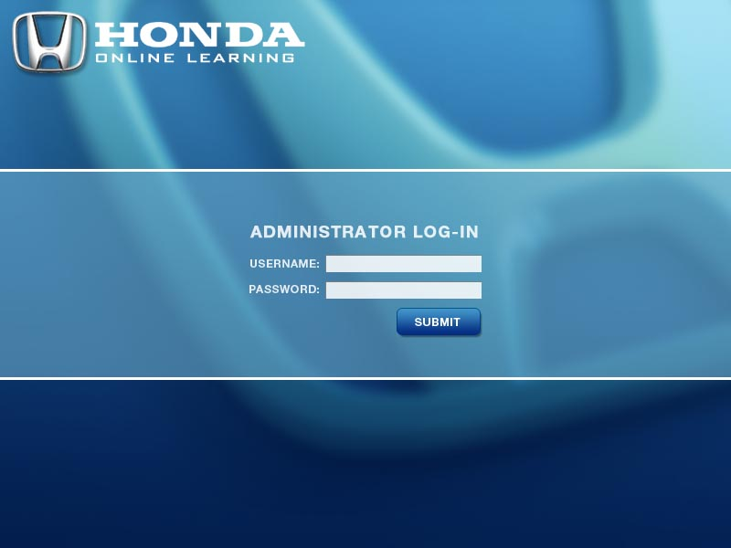 Honda Online Login Interface By Crackerweb
