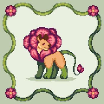 Flowery Lion
