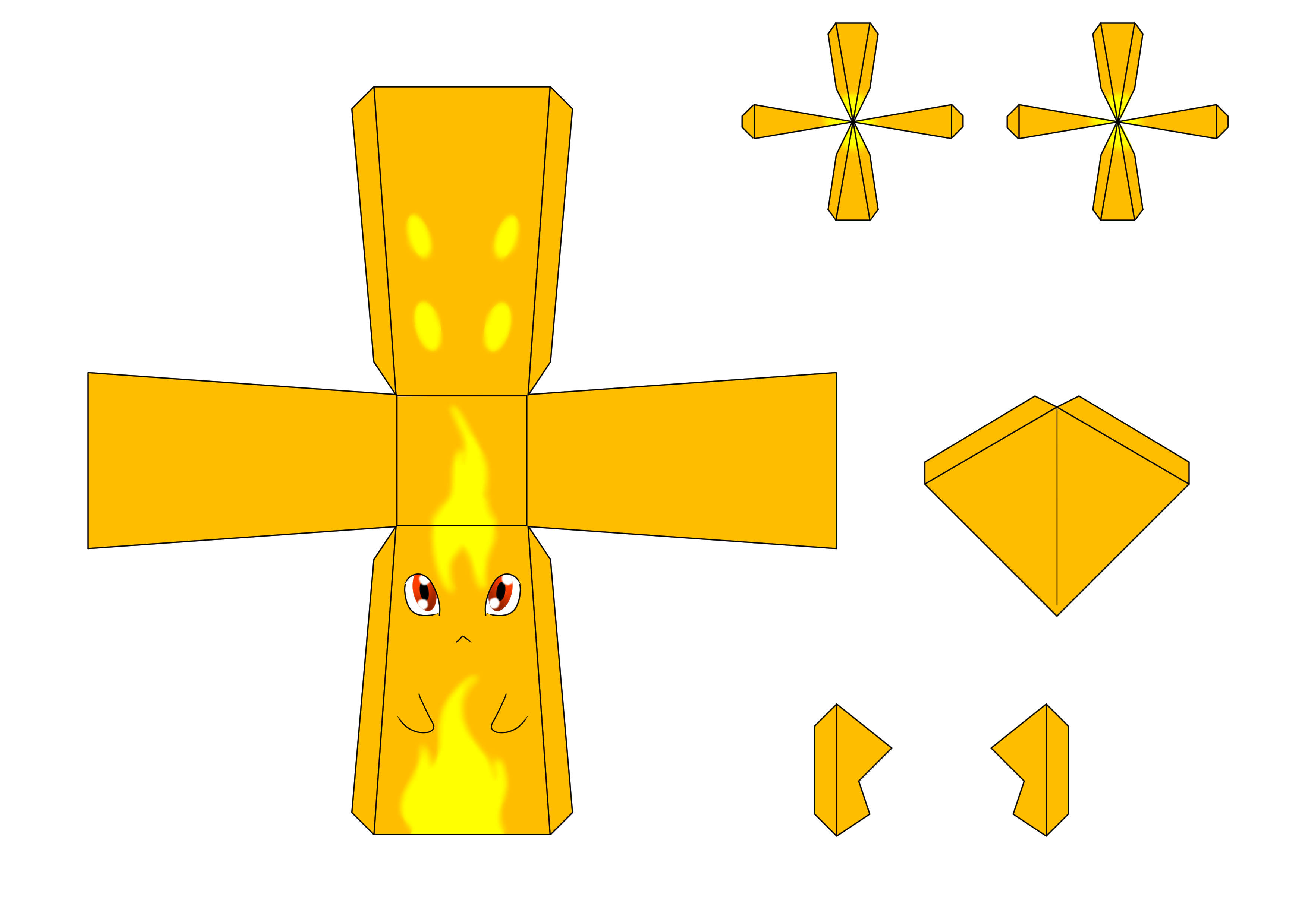 Burpy Papercraft Template By Drazugan On DeviantArt