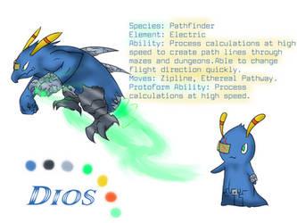 OC Slug - Dios (Ref Sheet) by Drazugan