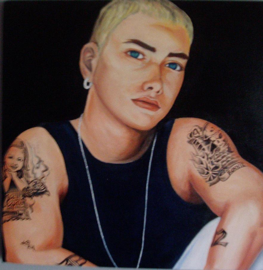 Eminem by Katyfellpics