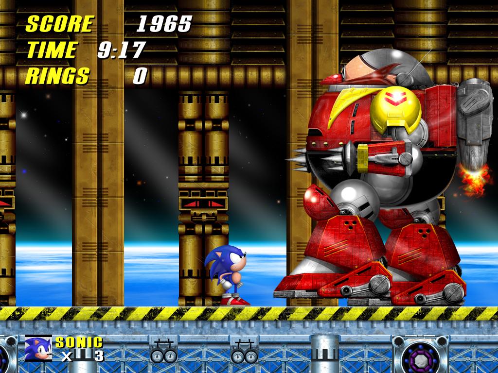 Sonic 2 last Boss HD by Billysan291