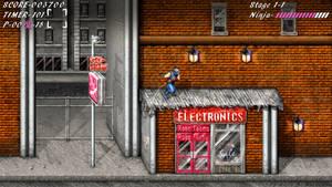 Ninja Gaiden NES HD Widescreen by Billysan291