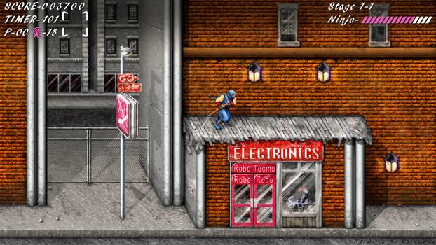 Ninja Gaiden NES HD Widescreen