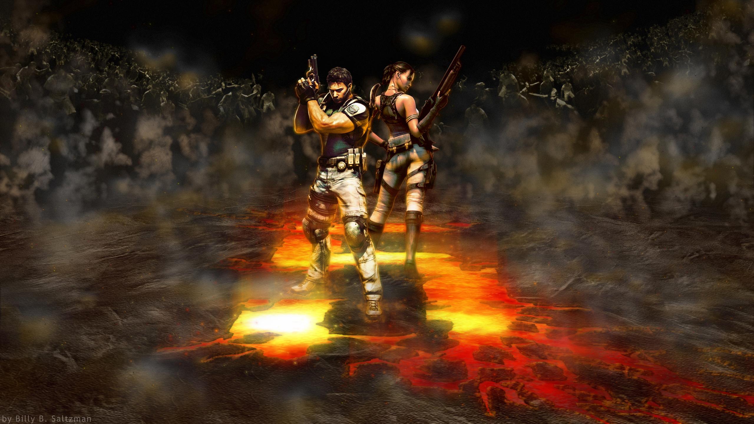 Resident Evil 5 Wallpaper 1 By Billysan291 On Deviantart