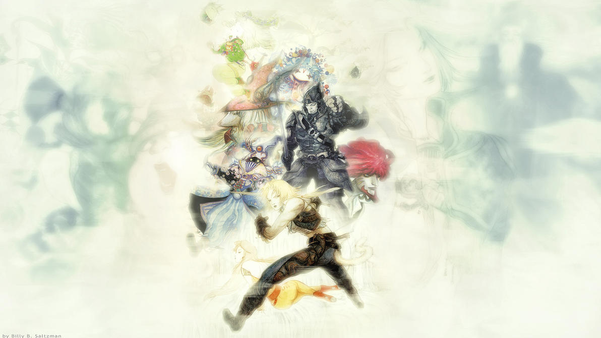 Final Fantasy IX Wallpaper 2 by Billysan291