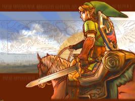 Zelda Link Wallpaper by Billysan291
