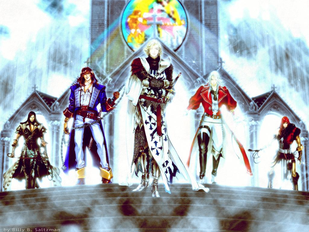 Castlevania Greatest Five By Billysan291
