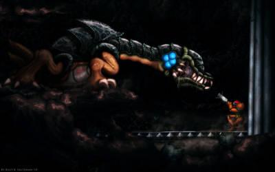 Metroid II Final Boss  HD by Billysan291
