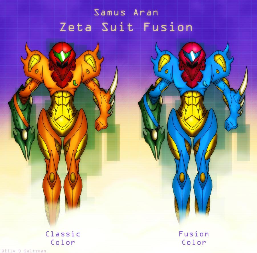 Metroid Fusion Zeta Suit By Billysan291 On DeviantArt
