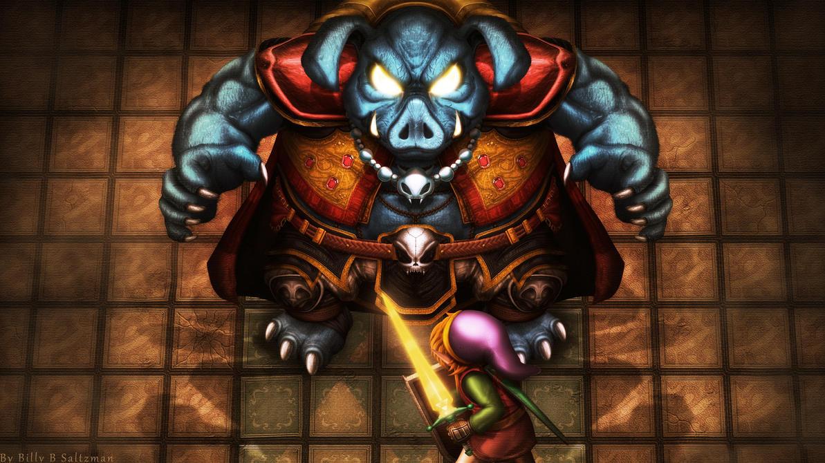 Link vs Ganon by Billysan291