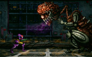 Super Metroid: Final Boss HD Z by Billysan291