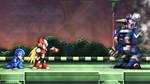 Mega Man X1 Upclose with ZX