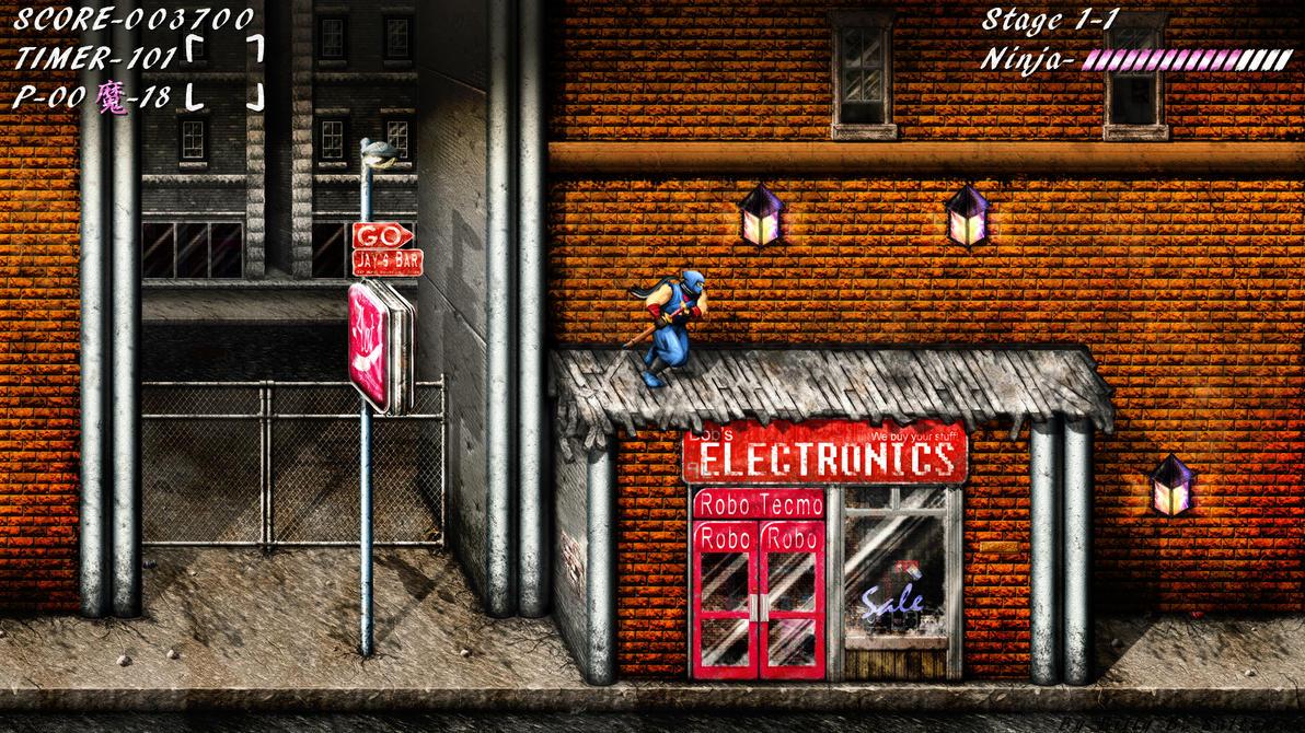 Ninja Gaiden HD Flare by Billysan291