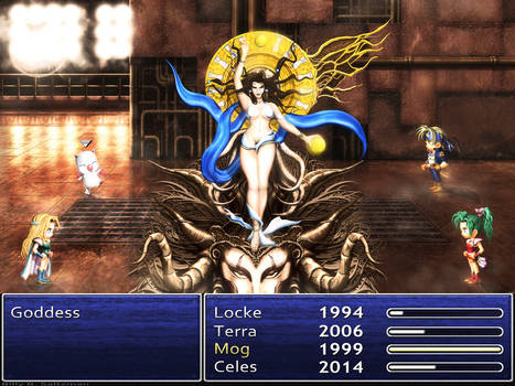 Final Fantasy Goddess HD Classic with Menu